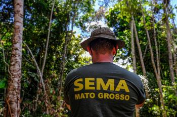 Operação Amazônia Arco Norte na região de Aripuanã - Desmatamento - Foto por: Mayke Toscano/Secom-MT