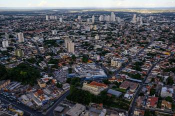 Fotos aéreas de Cuiabá - Foto por: Mayke Toscano/Secom-MT