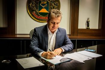 Governador Mauro Mendes (DEM)                                      Foto:Assessoria