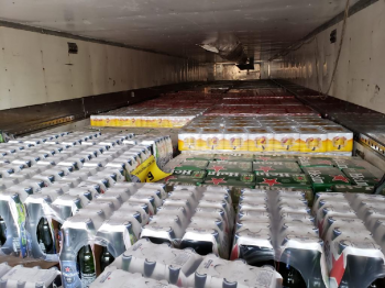 Além da carga irregular, a fiscalização encontrou outras bebidas armazenadas no local que, possivelmente, também não possuem documentação fiscal, ou seja, não tiveram o ICMS recolhido                                                                                  Foto por:  - Assessoria Sefaz/MT
