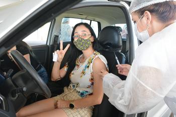 A vacinação ocorre amanhã para pessoas com comorbidades agendadas, das 8 às 15 h      Foto: Assessoria