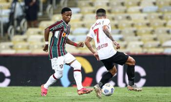 OBragantino vem de um empate em 3 a 3 com o Bahia, pela Série A pelo Campeonato Brasileiro    Foto: Lucas Merçon/Fluminense