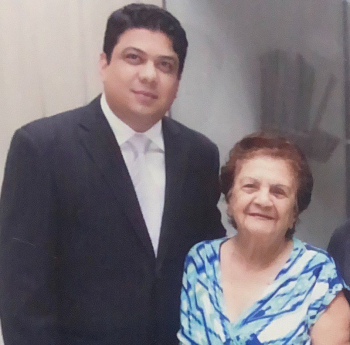 Kalil e D. Sarita Baracat                                         Foto: Álbum de família