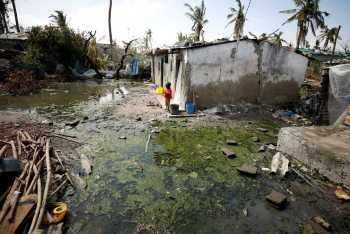 Ciclone em Moçambique