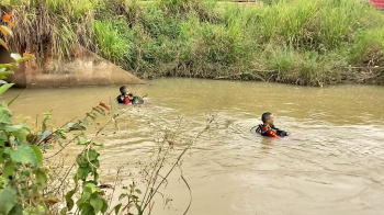 Bombeiros militares buscam por bebê desaparecido em Tabaporã
