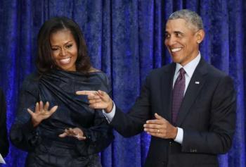 Ex Presidente dos EUA e esposa fecham acordo de conteúdo com empresa de filmes.