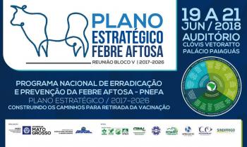 Retirada da vacinação contra a febre aftosa é tema de encontro em Cuiabá.