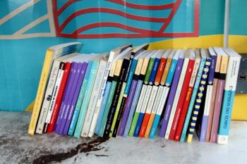 Bióloga busca facilitar o acesso à leitura por meio da doação de livros