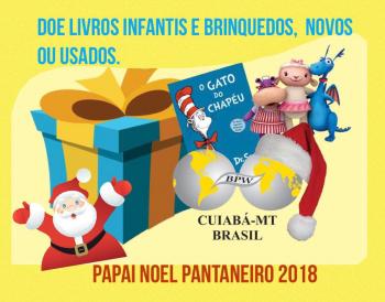 "BPW Cuiabá é parceira do Projeto ""Papai Noel Pantaneiro 2018"""