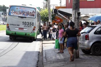 Semob reforça orientação sobre embarque e desembarque na região da Ipiranga