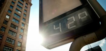 Temperaturas vão ficar acima da média histórica entre dezembro e fevereiro