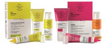 O Boticário lança linha de Cuidados Faciais para peles normais e com acne