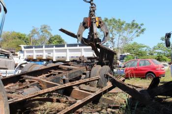 Detran-MT e Polícia Civil iniciam ação de reciclagem de veículos