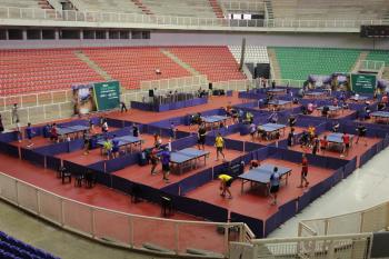 Ginásio Aecim Tocantins recebe Super Copa Brasil de Tênis de Mesa
