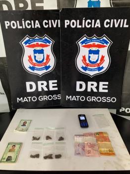 Polícia Civil prende mãe e filho que atuavam com tráfico