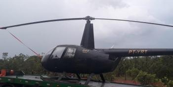 PM apreende helicóptero