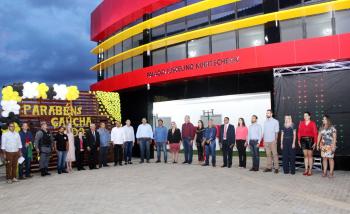 AMM participa da inauguração da nova sede da prefeitura e aniversário de Gaúcha do Norte