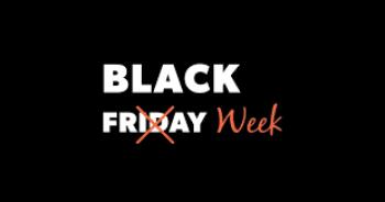 Black Friday? Não: Black Week