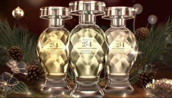 Botica 214, linha premium do Boticário, ganha duas novas fragrâncias para o Natal