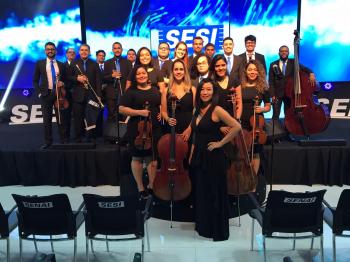 Orquestra Sesi MT realiza live em homenagem aos trabalhadores