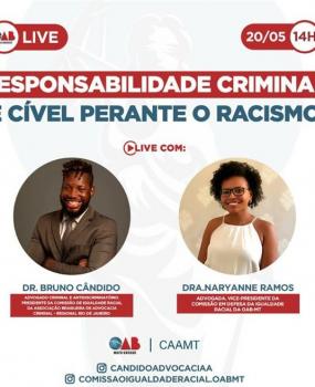 Live 20 de Maio 14 h - Direito Antidiscriminatório