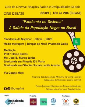 Ciclo de Cinema em Cena: Relações Raciais e Desigualdades Sociais