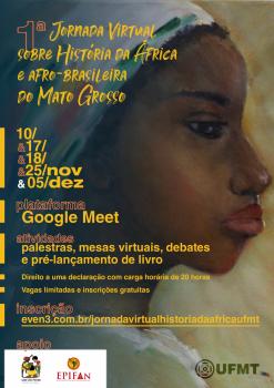 1a Jornada Virtual sobre História da África e afro-brasileira do Mato Grosso