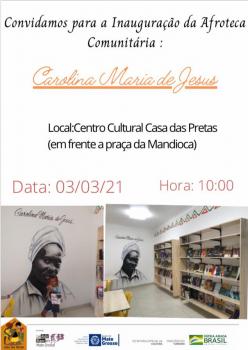 Inauguração da Afroteca  Centro Cultural Casa das Pretas
