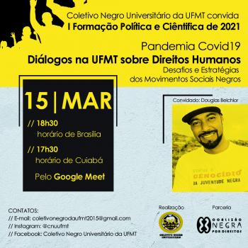 Primeira Formação CNU-UFMT 15 de março