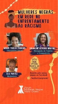 Roda de Conversa 21 de março Dia Internacional pela Eliminação da Discriminação Racial