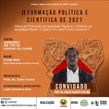 EVENTO: IIº FORMAÇÃO POLÍTICA E CIENTÍFICA DE 2021
