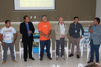 Workshop de aprimoramento de produtos turísticos debate normas e regras para funcionamento de atrativos em Nobres