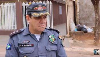 """Comandante acompanha operação e faz visita """"surpresa"""" a vereadora Zilmai"""