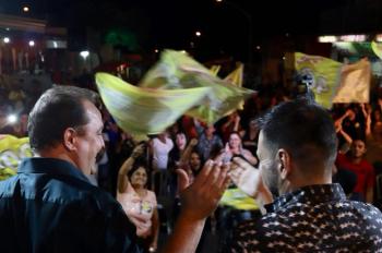 Comício em Barra do Garças consolida  campanha de Max Russi no Araguaia