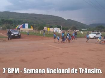 7º Batalhão da PM de Rosário Oeste divulga relatório de ações da Semana Nacional de Trânsito