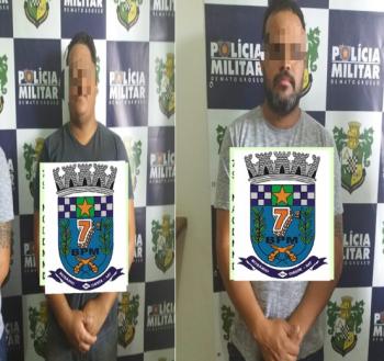 Dois são presos com 150 pacotes de cigarros em Rosário Oeste