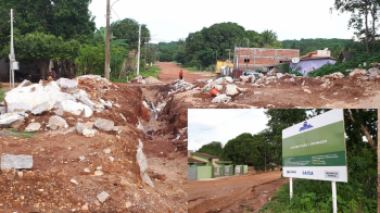 Prefeitura rescinde contrato com empresa contratada para obra de pavimentação na Avenida Mario Abrãao Nassarden