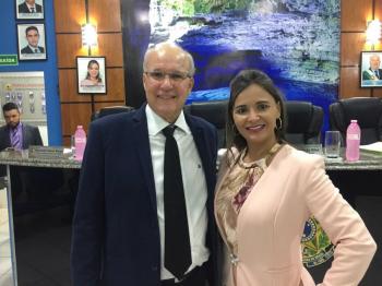 Foto Arquivo pessoal vereadora Zaira Valandro