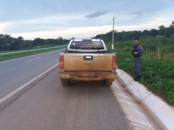 PM de Rosário Oeste encontra veículos furtados em Nova Mutum