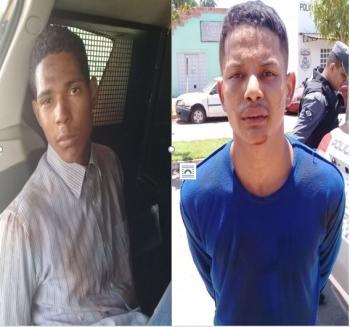 Polícia Militar  prende dupla por roubo de carro em Jangada