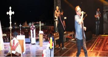 Católicos celebram aniversário da cidade com Missa em Ação de Graças e show de Diego Fernandes