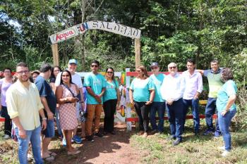 Autoridades prestigiam lançamento do Acqua Fun Salobão; prefeito destaca oportunidades