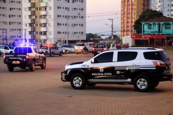 Polícia Civil cumpre 7 ordens judiciais em ação de combate a criminalidade em Diamantino