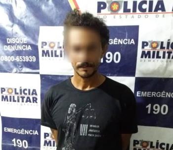 PM prende homem por ameaças no bairro São José