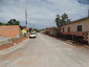 Pavimentação  asfáltica no bairro Jardim Glória é concluída