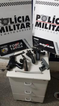 Cinco criminosos morrem em troca de tiros com a PM na Estrada do Manso