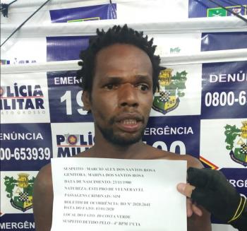 Homem é preso suspeito de estuprar sobrinhos de 7 e 8 anos em Várzea Grande