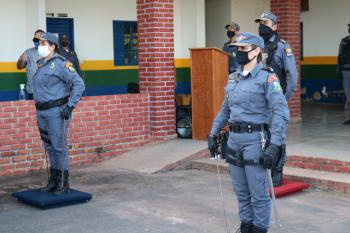 Deixo o comando com certeza de dever cumprido, diz Tenente Coronel Cláudia Regina ao deixar o 7º Batalhão de Rosário Oeste