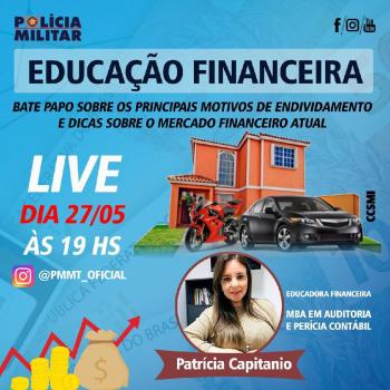 PM promove live sobre educação financeira em tempo de pandemia