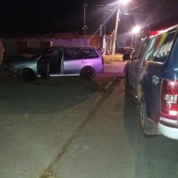 Homem é preso pela PM de Nobres após dirigir em alta velocidade e bater o carro